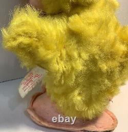 10 Vintage Rushton Company Stuffed Yellow Duck Plush w Vinyl Face Tagged