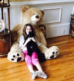 100CM-340CM Giant Large Big Teddy Bear Plush Soft Toy doll Gift(ONLY COVER) hot
