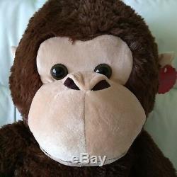 100CM Soft Plush Madison Monkey Present Giant Chimp Toy Christmas/Birthday
