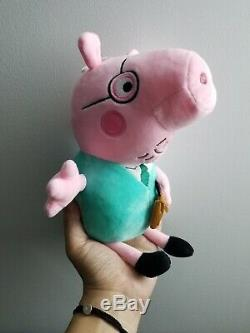 11.8 Peppa Pig Dad Soft Stuffed Plush toy Cute kids gift Out Of Stock