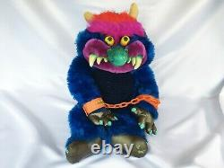 1986 Vintage 24 My Pet Monster Plush with Handcuffs