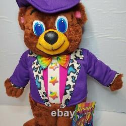 1994 Lisa Frank Rare Hollywood Bear 24K Plush Collectible Stuffed Animal NWT