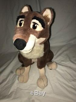 1994 Universal Studios Balto Jenna Husky Plush Dog 18 bendable Legs