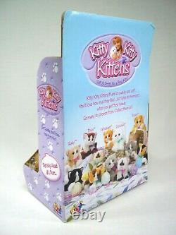 2001 DSI Kitty Kitty Kittens Punkin Plush Toy New In Box Orange White Stripe Cat