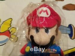 2007 Hudson Soft Mario Party 5 Mario (S) Plush SuperMarioLogan SML Nintendo MP5