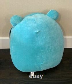 2021 Squishmallow 16 Ludwig the Teal Blue Frog Books a Million Exclusive NWT