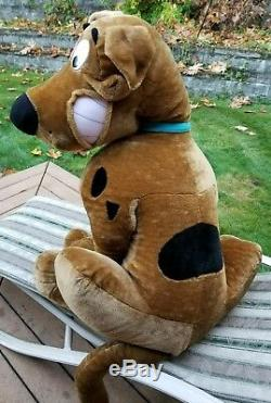 48 Scooby-Doo Stuffed Plush Animal Dog Jumbo Large Hanna-Barbera Toy Network