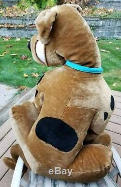 48 Scooby-Doo Stuffed Plush Animal Dog Jumbo Large Hanna-Barbera Toy Network