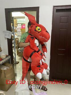 59'' Digital Monster Digimon Guilmon Plush Doll Cover Giant Pillow Case Gift