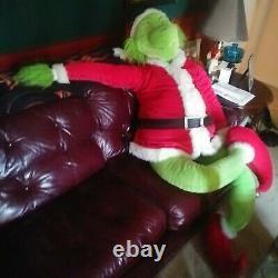 6 foot tall PLUSH CHRISTMAS GRINCH