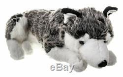 60cm Large Stuffed Wild Republic Wolf Teddy Super Plush Siberian Husky Toy Gift