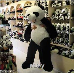 72'' Giant Hung Big Panda Teddy Bear Stuffed animals Plush Doll Toys Pillow Gift