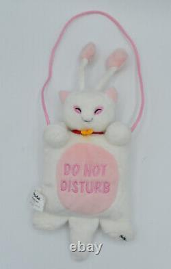 Aisha 11.5 Door Hanger Plush Neopets NWT Do Not Disturb Sign