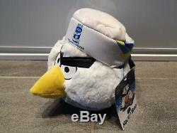 Angry Birds Hockey Bird plush With All Tags Extreme rare collection