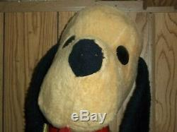 Animal Fair Henry 22 plush puppy dog doll vintage 1976 with black belly button