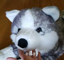 Aurora SUPER MUSH Husky Plush Toy