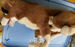 BALTO 1995 Amblin Universal Movie PLUSH Wolf Husky Dog Stuffed Animal Vintage