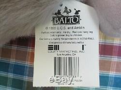 BALTO Large Plush BALTO Wolf Dog Animal withtags Amblin / Universal 1995