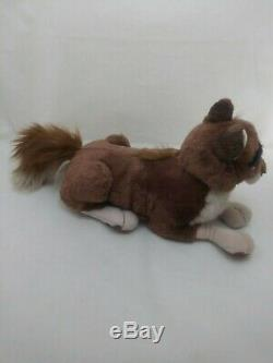 Balto 1995 Universal Studios Husky Wolf Plush Dog 23 Stuffed Laying Movie Star