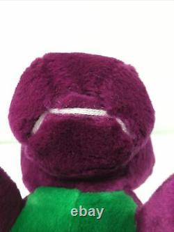 Barney & the Backyard Gang String Mouth Lyons Dakin 1990 Plush with Tag Rare Vtg