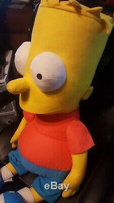 Bart SIMPSON 4 Foot Tall Life Size Plush Stuffed