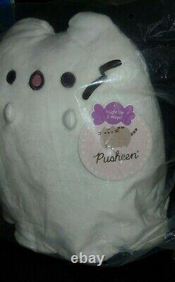 Boosheen Limited Edition Pusheen Ghost Plush Brand New In Bag 9.5 Inch Plush