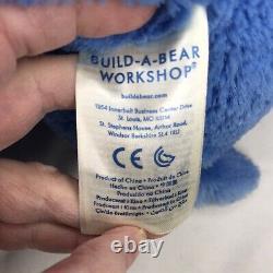 Build A Bear Grumpy Bear Care Bears Blue Plush Animal BAB Stuffed Plush Rare