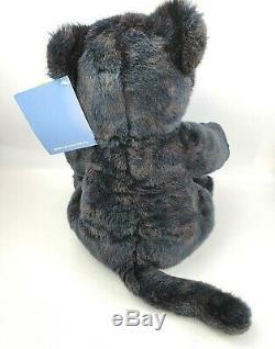 Build A Bear St. Louis Zoo Jaguar 15 Plush 2008 Retired Black Stuffed Animal