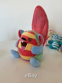 CUTE & HUGE Neopets Plushie Patchwork Plush Toy Lot Kacheek Cybunny Kougra