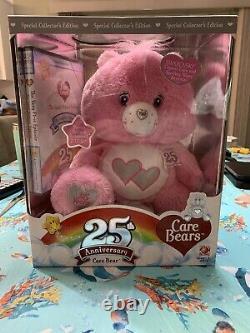 Care Bear LOVE A LOT 25th Anniversary Swarovski Collectors Edition