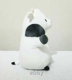 Cliff the 11 HUG MEES Rare Standing B&W Cow Squishmallow Stuffed Animal Plush