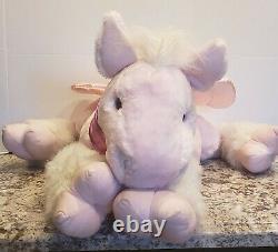 Commonwealth 36 Jumbo Plush Stuffed Pink Winged Unicorn 2005 RARE-VHTF