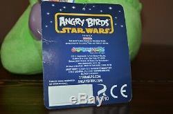 Commonwealth Toys Angry Bird Star Wars Plush GREEDO PIG Prototype SUPER RARE