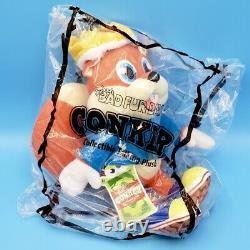 Conker's Bad Fur Day Talking Conker Plush Figure 14 Sounds (8 Tall) IN HAND
