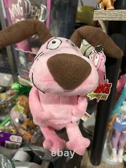 Courage the cowardly dog plush