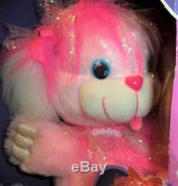 CuddleBrites Rosyshine Pink Fiber Optic Plush Dreamworks 1991 Brand New Gorgeous