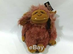 Dakin Henson Associates Labyrinth Ludo Beast Plush Doll Vintage 1986 TAG 14 HTF