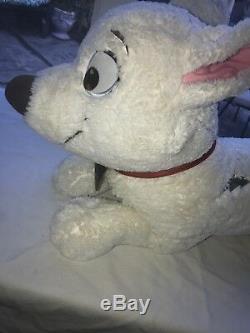 Disney Bolt 30 Jumbo Plush Stuffed Animal Toy Laying Down Dog HTF