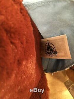 Disney World Disneyland Brer Bear Fox Splash Mountain Plush Stuffed Animals Nwt