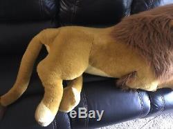Douglas Lion King Simba Plush Stuffed Disney Huge Jumbo Mufasa 1994 Nestle 5 Ft