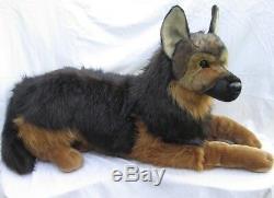 Douglas Major GERMAN SHEPHERD DOG 32 Lying Plush Stuffed Animal NEW