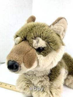 FAO Schwarz Wolf Plush 18 Realistic