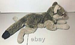 FAO Schwarz Wolf Plush 2007 18 Realistic