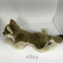 FAO Schwarz wolf plush