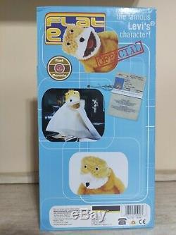 FLAT ERIC Mr Oizo Soft Toy Plush Levi's ORIGINAL100% Since 1999 New Boxed 90's