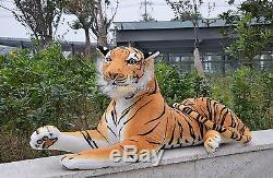 Fancytrader 67'' Life Size Huge Giant Plush Stuffed Tiger Emulational Toy Animal