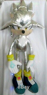 Fandom Silver Sonic the Hedgehog Large Plush 45 Plush Doll-New with Tags! RARE
