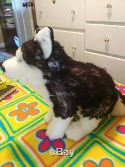 GANZ Webkinz Signature Husky Plush Dog (Plush Only, No Code)