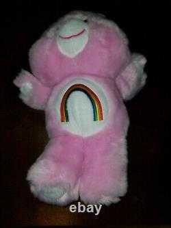 GUND 4060626L Vintage Cheer Bear Care Bear Stuffed Animal 15 Plush Toy RARE t6