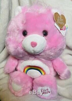 GUND Care Bears Cheer Bear 14 Stuffed Plush Animal NWT RARE